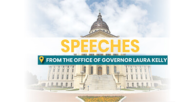 """Governor Laura Kelly's """"Ad Astra: A Plan to Reopen Kansas"""" Speech"""